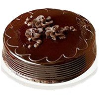 Send Eggless Cakes to Bangalore- Chocolate Truffle Cake in Bangalore